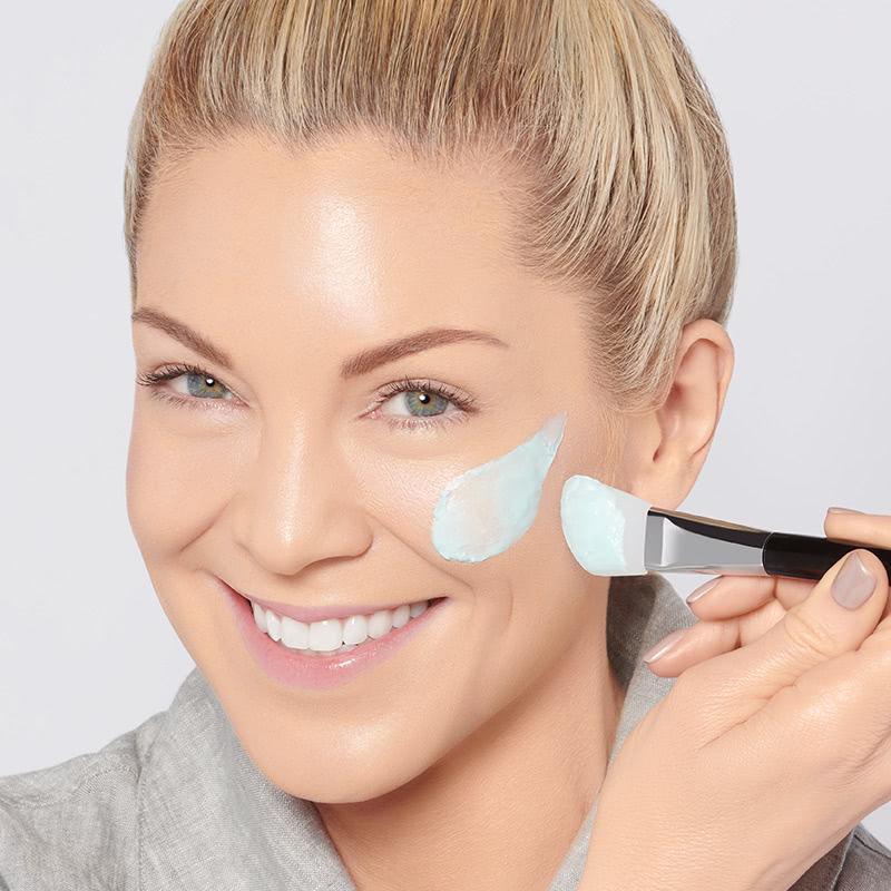 masque hydratant facial